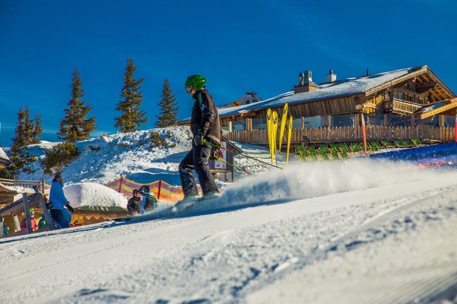 Skispaß im Val di Sole