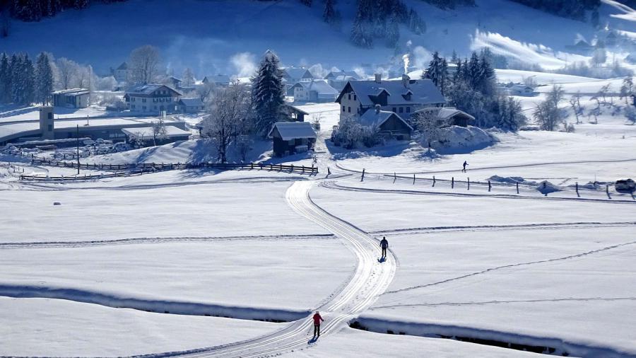 Skispaß im Fassatal